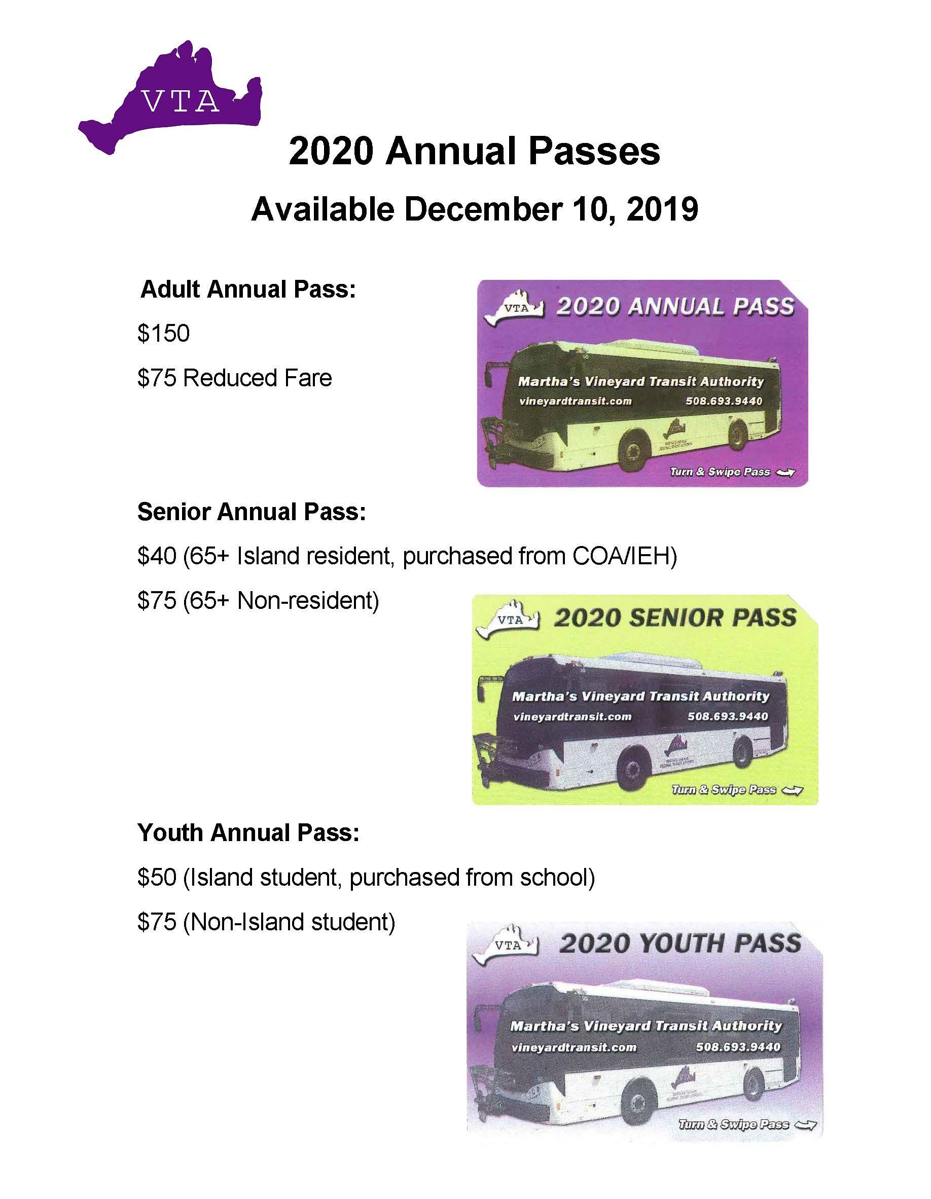 2020 Annual Pass